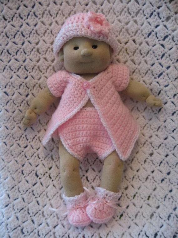 Crochet Pattern For Doll Diaper : CROCHET LALI SOCK DOLL DIAPER SET