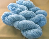 Recycled Lambswool Yarn - Mini-Skeins in Powder Blue (374 yds)