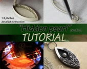 Hidden pearl TUTORIAL metal clay