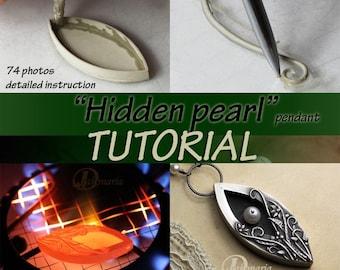 Hidden pearl TUTORIAL metal clay