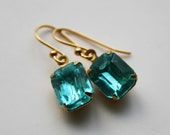 Golden Age of Hollywood Earrings - 14k gold