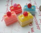 sale Colorful Sliced cake Set A 4pcs