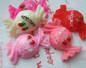 SALE Yummy Candy cabochons Set 5pcs B