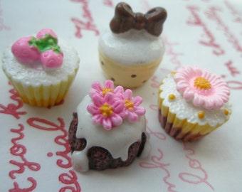 sale Miniature Cupcake and cake Mix Set C 4pcs