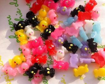 sale Tiny Mini Candy cabochons Set 12pcs  Random MIX