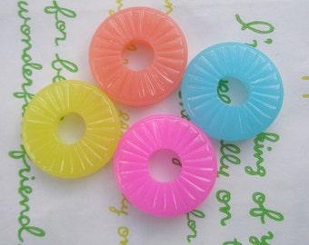 Jelly Candy cabochons 4pcs SET A