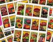 French Fleurs Bunch - all 5 sheets