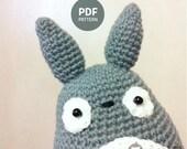 My Neighbor Totoro Amigurumi  PDF Pattern