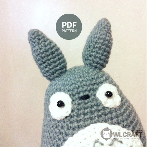 Free Amigurumi Wedding Couple Pattern : My Neighbor Totoro Amigurumi PDF Pattern by owlcraftshop ...