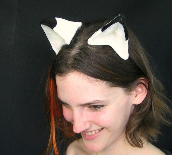 Arctic Fox Clip On Cat Costume Cosplay Ears