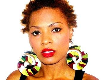 Souljah Girls Girly Swirls Earrings