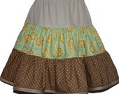 Spinning Skirt (4-6) Taupe treasure