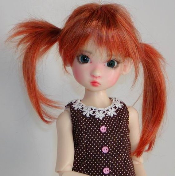 Ruffled Dress to fit Kaye Wiggs Annabella- Nyssa and DollsTown 7 Year MSD BJD
