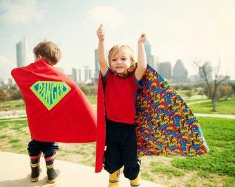 Superhero Themed Cape