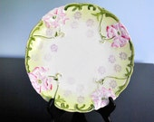 VINTAGE HAND PAINTED DECORATIVE WEIMAR PLATE FROM GERMANY