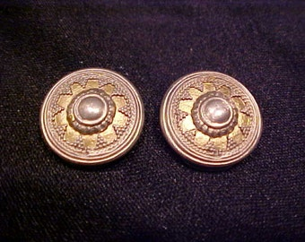 Silver Ben Amun Clip Earrings