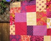 Heirloom Joel Dewberry Jewel Box Patchwork Blanket Made to Order