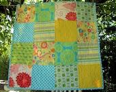 32x32 Custom Order Baby Quilt You Choose Fabrics