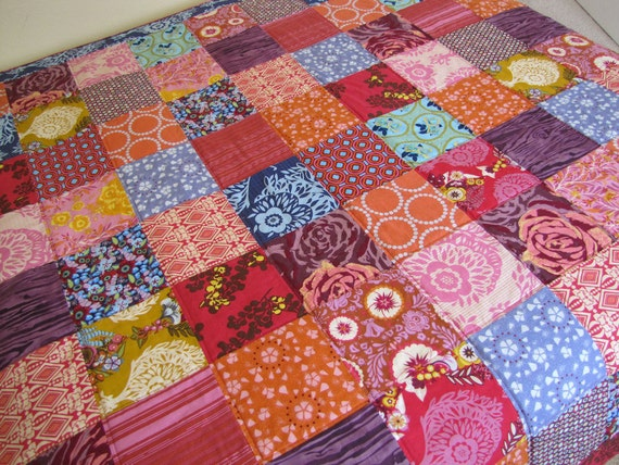 64X80 Twin Quilt Custom Order You Choose Fabrics