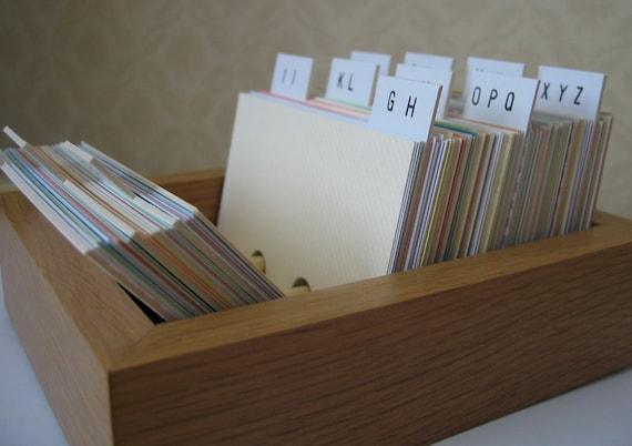 Small address book box