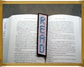 READ Bookmark Blue and White