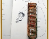 READ Bookmark Varigated Browns and Tan with Green