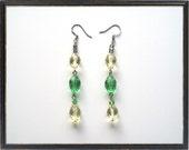 Spring Delights Czech Glass Earrings