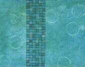 Neptune Avenue - mixed-media painting  18x27