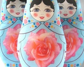 Make your own Babushka Matryoshka Doll Plush -  Sewing Kit WITH STUFFING