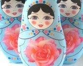 Matryoshka Russian Doll Plush - large size