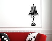 Lamp Vinyl Decal
