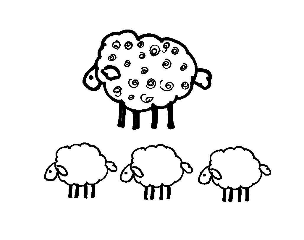 Baa baa black sheep by wordcandyvinyl on etsy for Baa baa black sheep coloring page