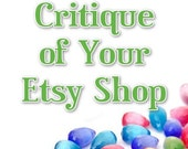 Full Critique \/ Review of Your Etsy Shop