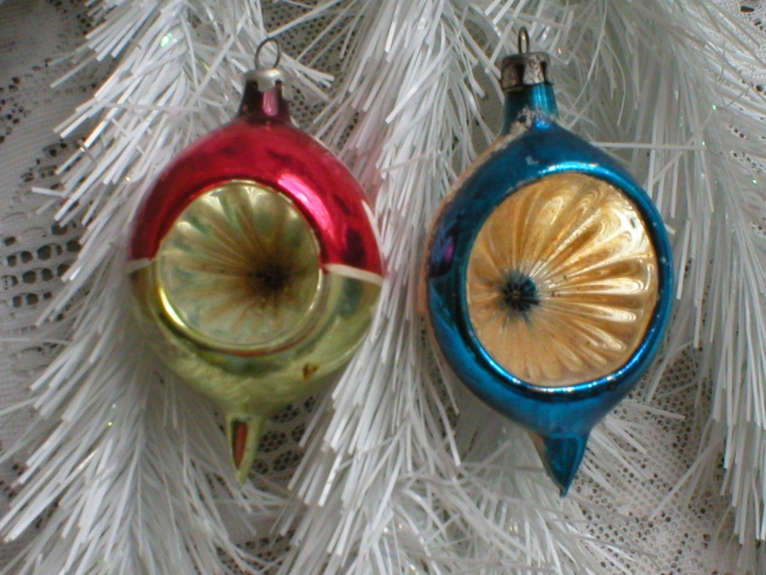 Christmas ornaments poland 1940s indent vintage by for 1940s decoration