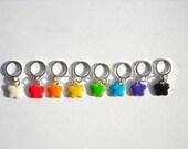 Super Cute Mini Flower Mix - 8 Enamel Stitch Markers
