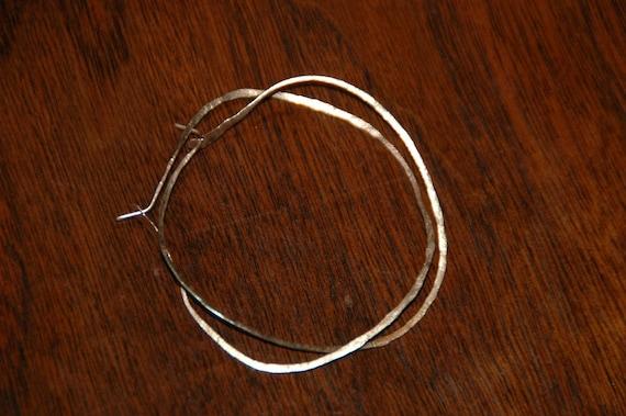 whisper light 14k yellow gold hoop earrings bigger