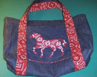 Painted Pony Handbag
