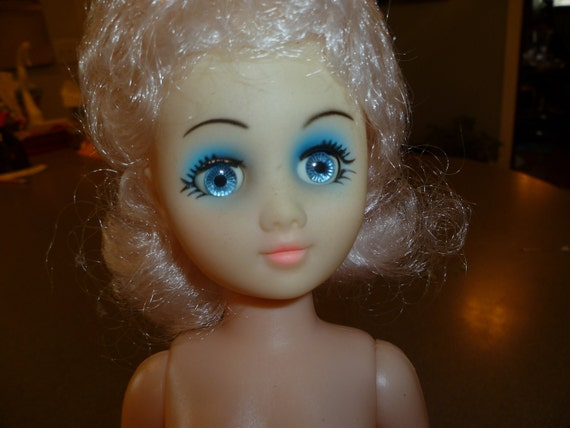 15 inch 38cm classic doll with platinum hair by fibre craft for Fibre craft 18 inch doll