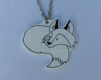 Sweet Fox Charm or Pendant