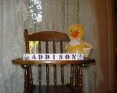 Baby Blocks Addison Jacana Crib Bedding free shipping in USA choose 2 symbols included with set baby shower holiday stocking stuffer