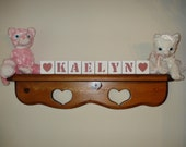 Baby Blocks Kaelyn Rose Pink free shipping in USA choose any 2 symbols included with set baby shower birthday welcome baby holiday gift
