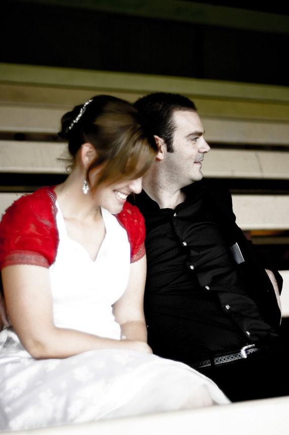 ROUGE ROSES deep bordeaux bolero jacket bridal bolero jacket red bolero jacket bordeaux bolero jacket wedding shrug