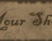 Antique Crow Etsy Shop Banner With Free Avatar