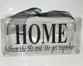 Funny  HOME  Vinyl Letters
