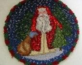 Snowy Santa