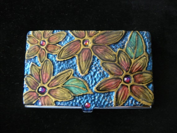 Daisy Business Card Case