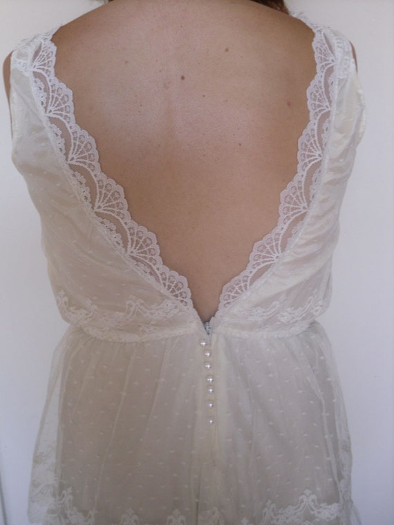 3 Tiered Lace Wedding Dress : D eggshell tiered lace wedding gown