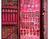 Pink Door, DUMBO, New York - 8x8 Photo Print