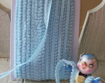 Mini Ball Trim in Baby Blue-3 yards for 1.99