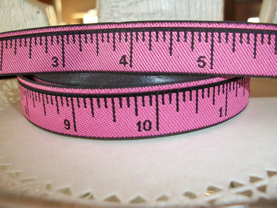 Yellow Measuring Tape Ribbon Trim 5 8 Inches Wide 3 Yards